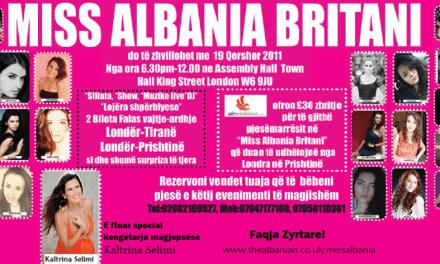 <!--:sq-->Miss Albania Britani – 19 Qershor 2011<!--:-->