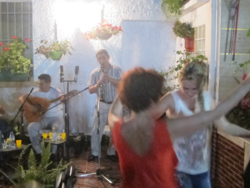 THE TIRANA ALLSTARS PLAYING AT A GARDEN PARTY