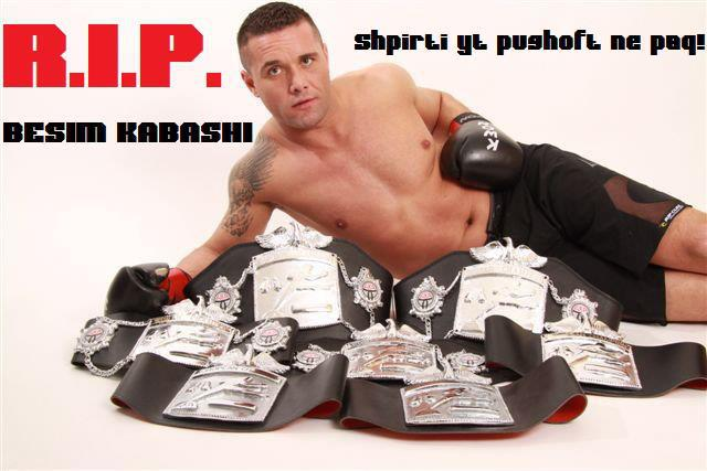 The Thai boxing World Champion, Besim Kabashi, is found dead!