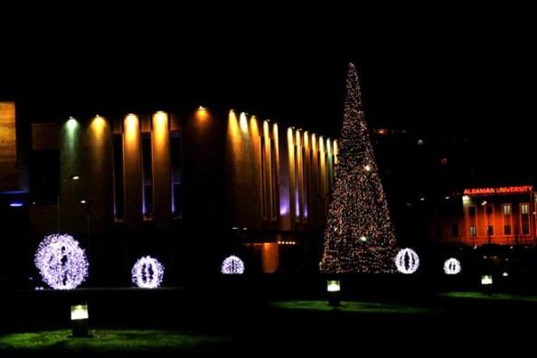 Christmas in Tirana, 2012