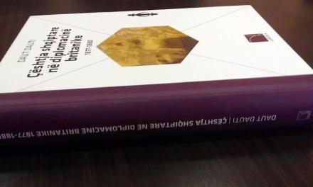 <!--:sq-->Botohet libri Çështja Shqiptare në Diplomacinë Britanike 1877 – 1880<!--:-->