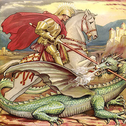 Today in Albanian Lands is Saint George's day