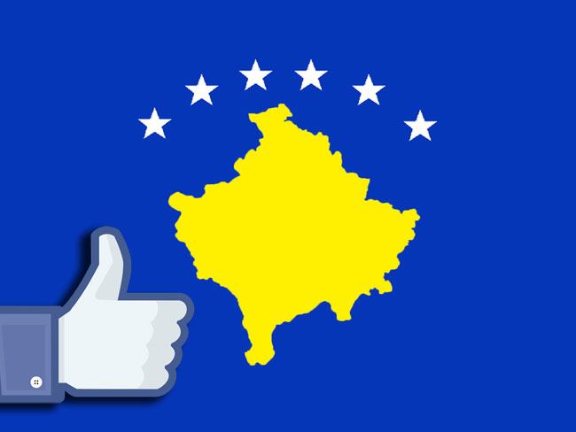 Kosovo finally gets recognised by Facebook