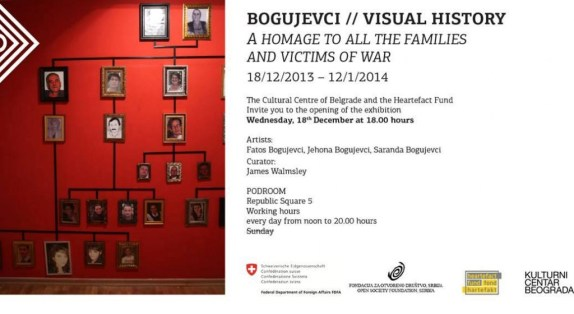 Bogujevci exhibition in Belgrade