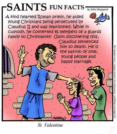 Historia e përgjakshme e Shën Valentinit, priftit të martirizuar romak i cili zyrtarizonte martesat