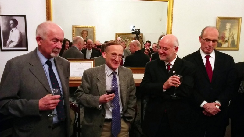 <!--:en-->The Knighthood of Sir Noel Malcolm celebrated at the Embassy of Albania in London<!--:-->