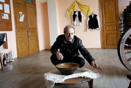 Piotr Kirpik, who is half Albanian and half Gagauz