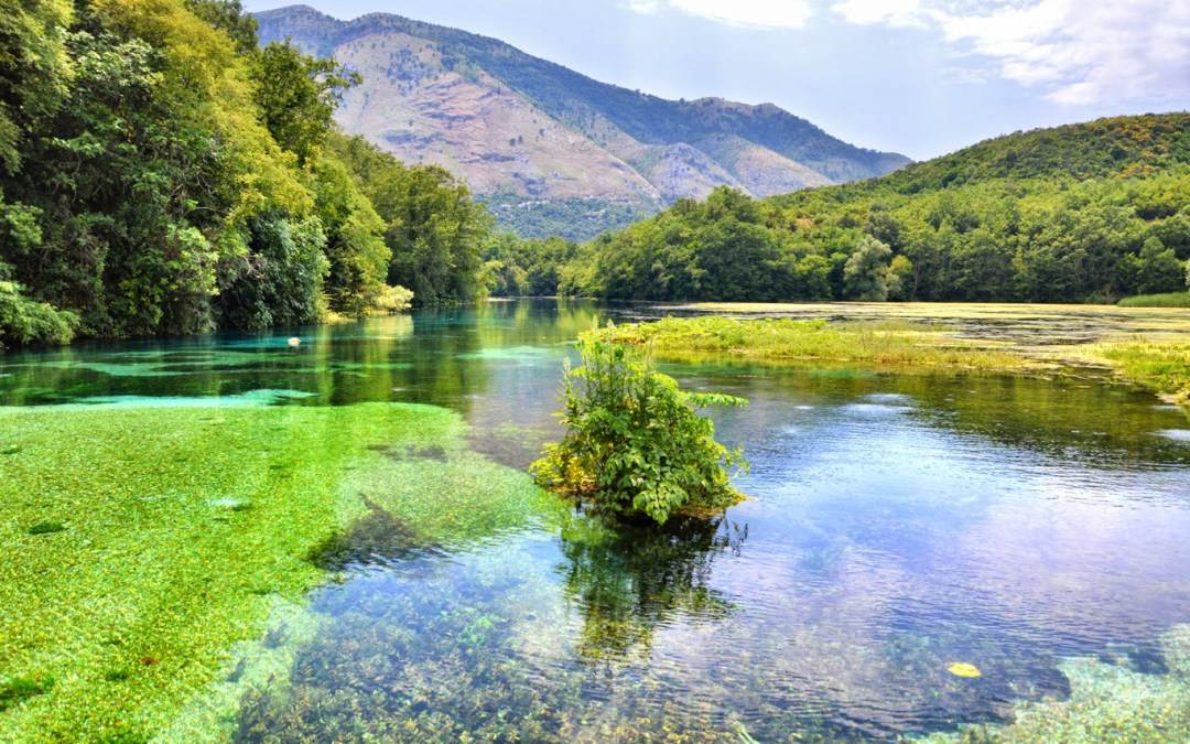 Adventurous Travels: Syri i Kalter (The Blue Eye) a fairy tale-like spring in the south of Albania