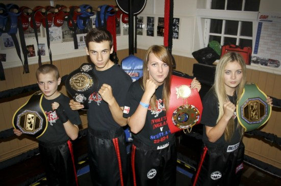 Young British kickboxers will face tough opponents from abroad.