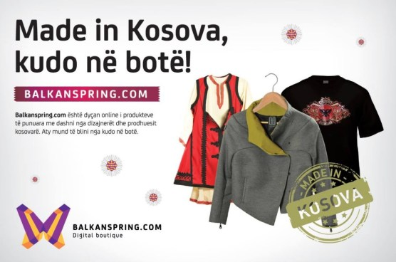 Balkanspring.com, an e-shop bringing you a great variety of products crafted from Kosovo