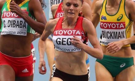 Luiza Gega wins the Women's 1500m for Albania at Baku 2015 European Games (Video)