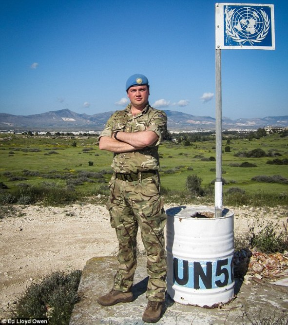 Captain Ed Lloyd Owen, 34, is making the 2,800-mile journey from Nicosia in Cyprus to London on foot, with his epic journey taking him through nine countries including Turkey, Italy and France, to raise money for charity  Read more: http://www.dailymail.co.uk/news/article-3168463/Doing-boys-Soldier-makes-2-800-mile-journey-home-Cyprus-Britain-foot-raise-cash-wounded-servicemen.html#ixzz3ghGkvonu  Follow us: @MailOnline on Twitter | DailyMail on Facebook