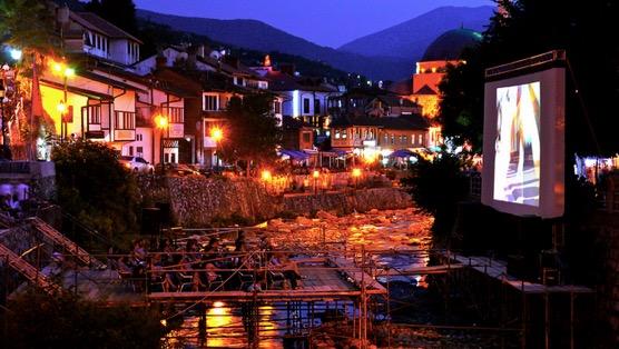 DokuFest screening in Prizren, Kosovo