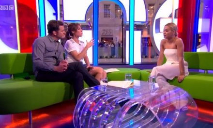 Rita Ora on BBC's The One Show talks about Kosovo and her Albanian heritage