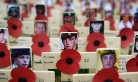 Nation to remember war dead today at 11am with a two-minute silence