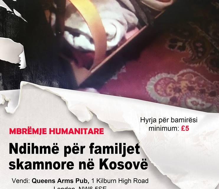 Mbrëmje bamirëse në Londër për familjet skamnore të Kosovës, 26 dhjetor 2015