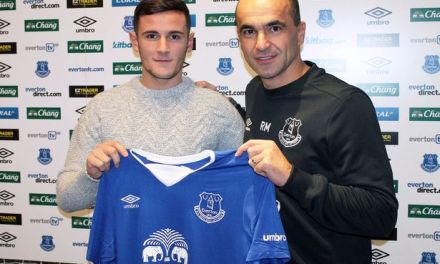 Shani Tarashaj, 'the new Xherdan Shaqiri' snapped by Liverpool's Everton