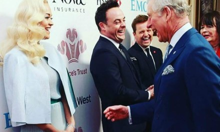 Rita Ora enjoyed giggle with Prince Charles at Prince's Trust awards ceremony