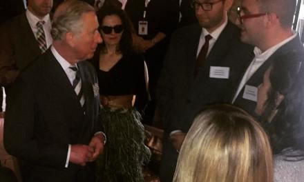 Prince Charles met today in Prishtina some British-Albanian professionals and Young Achievers of Kosovo