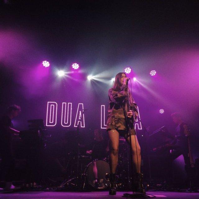 Dua Lipa playing London Heaven on 31st March 2016