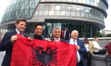 Albanian Community help London make history