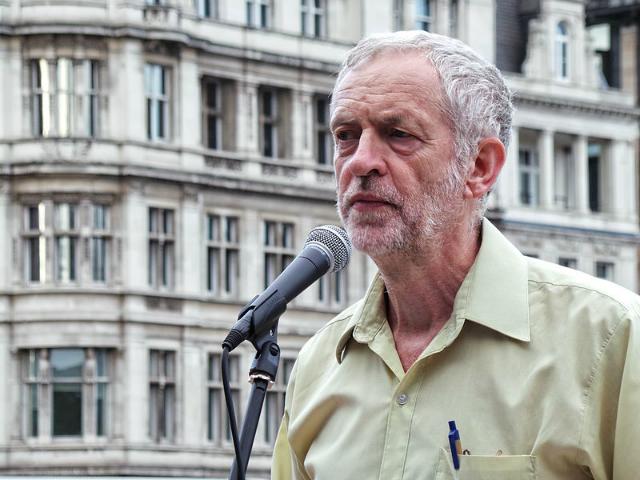 Jeremy Corbyn I Photo by Garry Knight, Creative Commons