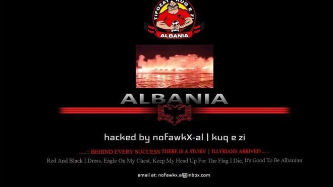 Hakera shqiptarë postojnë në faqen e policisë të Yorkshire-it