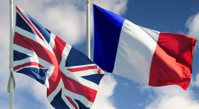 Flamuri britanik dhe ai francez