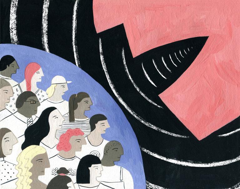 Ilustrimi i Arta Ajetit në New York Times