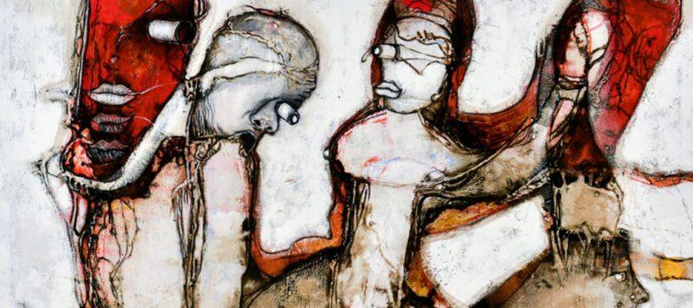 A painting by Zake Prelvukaj