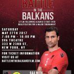 "Screening of indie docufilm ""Battle in the Balkans"" in London, 8 July 2017"