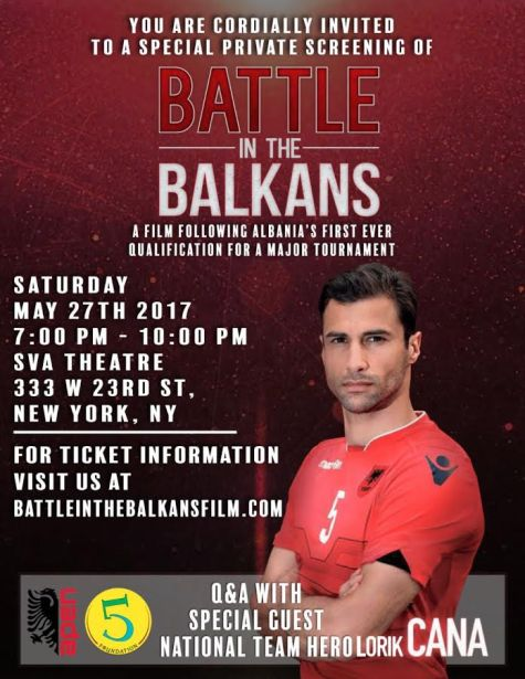 Battle In The Balkans poster