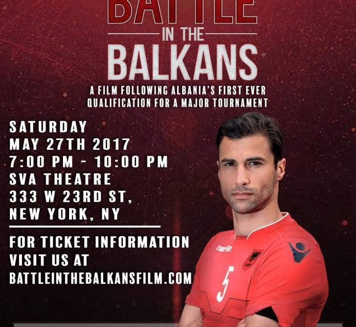 "Screening of indie docufilm ""Battle in the Balkans"" in London, 8 July 2017"
