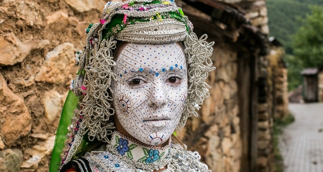 Old traditions gave way to the new ones and the bridal makeup tradition, which is still followed in some Kosovan villages.