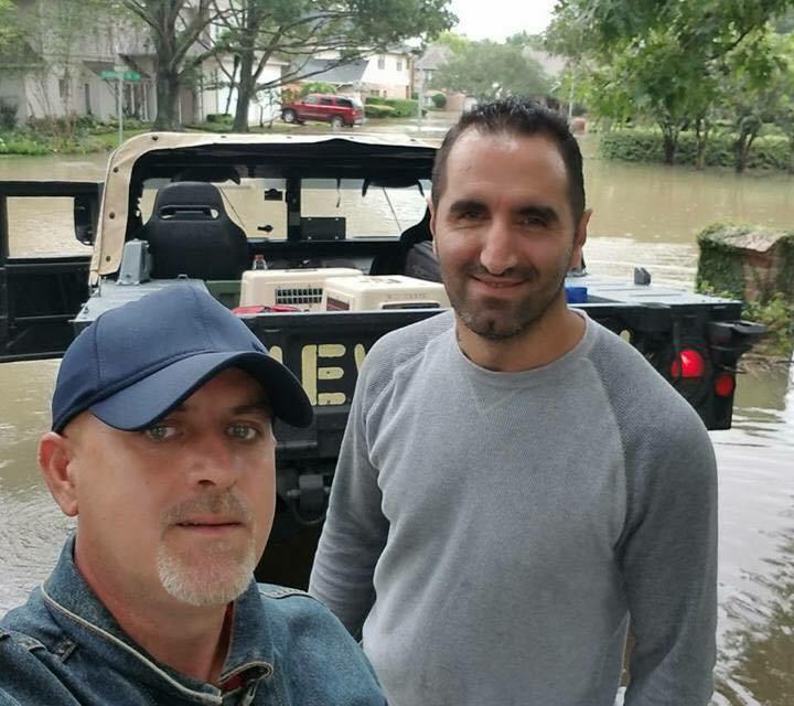 Kosovo Ambasador in USA praises an Albanian hero who is helping Hurricane Harvey victims