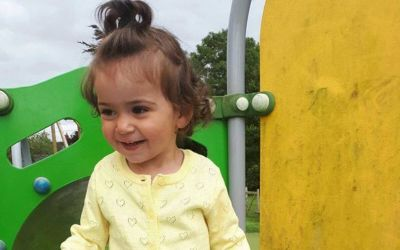 A touching story about little Albanian girl left orphaned and alone in Cardiff after her mum died following childbirth