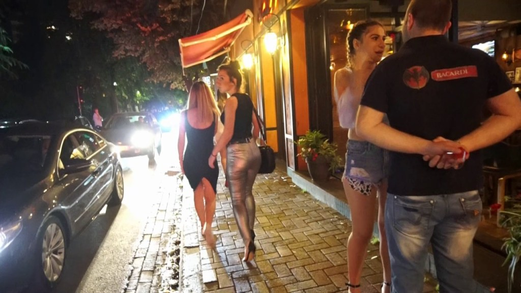 A glimpse from Tirana's nightlife