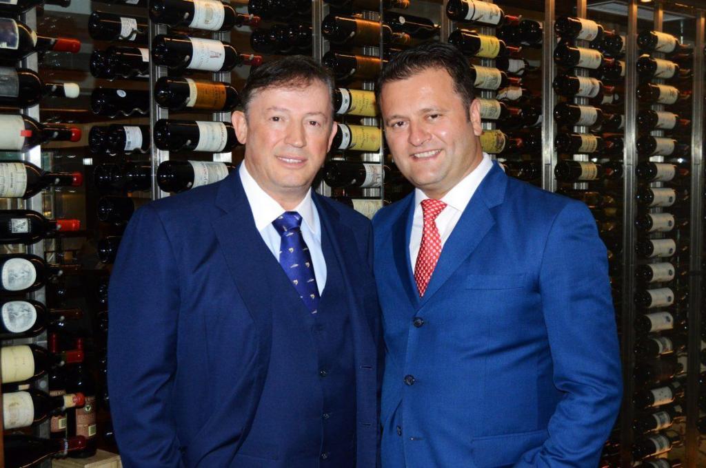 Benjamin Sinanaj and Benjamin Prelvukaj are the co-owners of the eponymous group of Benjamin Steakhouses, including Benjamin Steakhouse Prime in New York City.