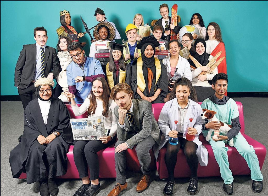 These are the 22 pupils who have received a place to study at either Oxford or Cambridge university