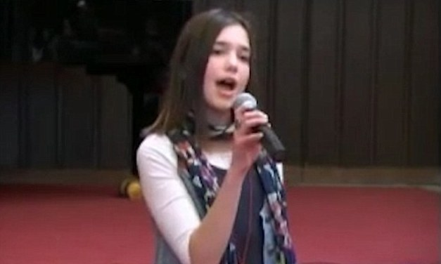 Dua Lipa displaying her star quality at the age of just 12 at a school talent contest in Kosovo (Video)
