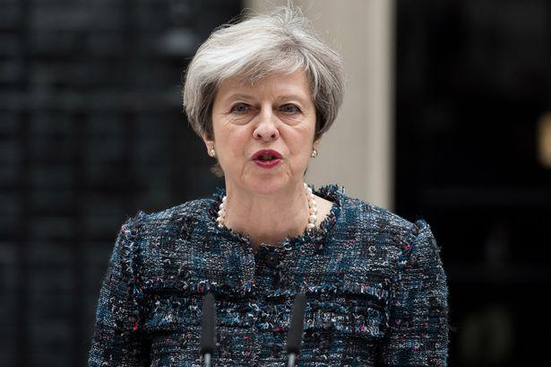 Kryeministresha Theresa May