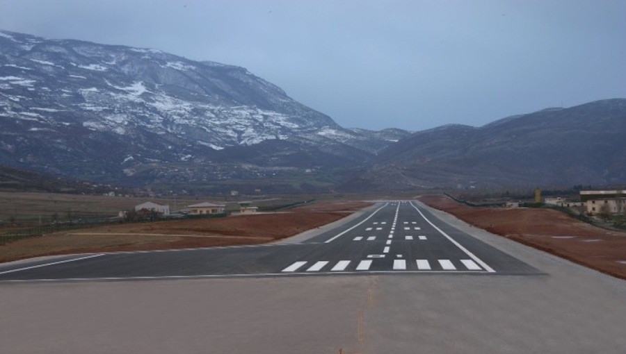 Albania's second airport to open in autumn 2018 in Kukës