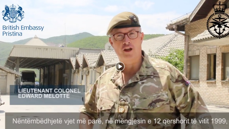 A British Army video: 19 years since Kosovo was liberated
