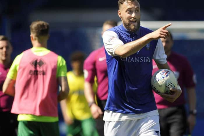 The new-deal Atdhe Nuhiu is a big man for the Sheffield Wednesday
