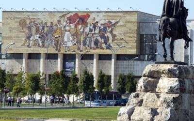 Elizabeth Gowing: Welcome to my place . . . Tirana, Albania