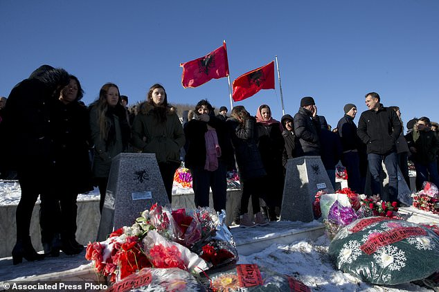 Kosovo Albanians remember 45 killed by Serb forces 20 years ago