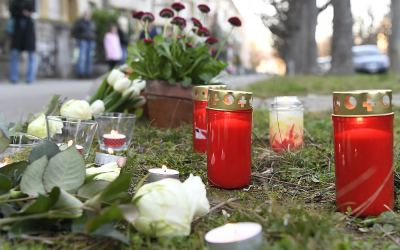 An Albanian boy killed on way home from school  by a 75 years old Swiss woman