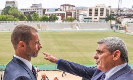 BBC: The remarkable Mr Vokrri, Kosovo's football rise