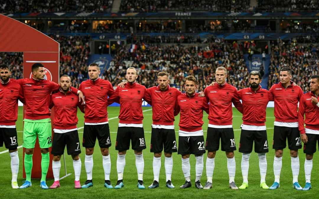 Macron apologises to Albania over anthem blunder