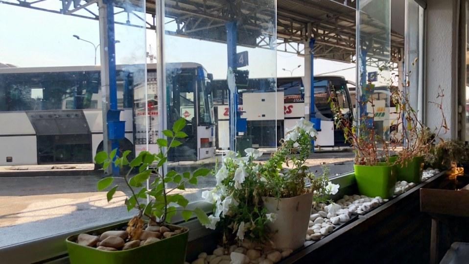 Prishtina's Bus Station